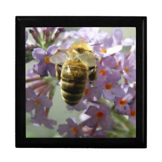 Honeybee and Buddleia Flowers Gift Box