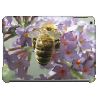 Honeybee and Buddleia Flowers iPad Case