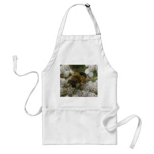 Honeybee and Flowers Apron