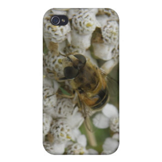 Honeybee and Flowers  Case For iPhone 4