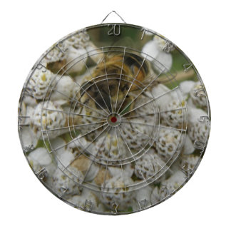 Honeybee and Flowers Dart Board