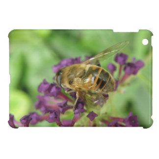 Honeybee and Purple Flowers iPad Mini Case For The iPad Mini