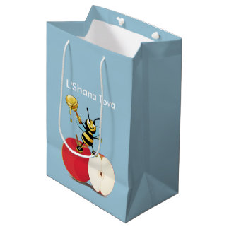 Honeybee Apple Rosh HaShana Medium Gift Bag