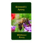 Honeybee Honey Label
