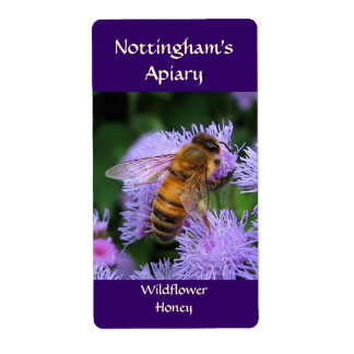 Honeybee Honey Label Shipping Label
