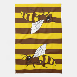 Honey Bee Tea Towels