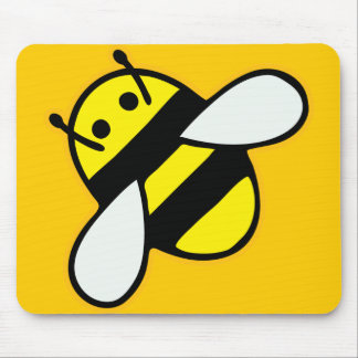 Honeybee Mouse Pad