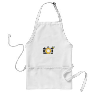 Honeybee on a Digital camera Standard Apron