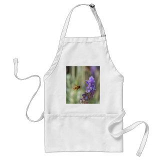 Honeybee on Lavender Aprons