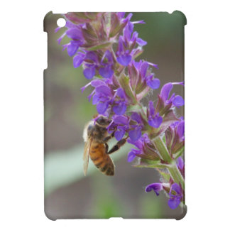 Honeybee on Salvia Cover For The iPad Mini