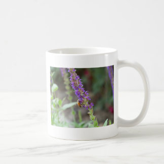 HoneyBee on Salvia Coffee Mug