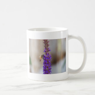 Honeybee on Salvia Coffee Mugs
