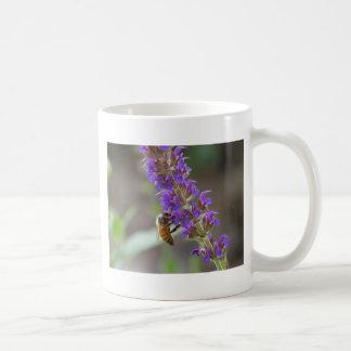 Honeybee on Salvia Mugs