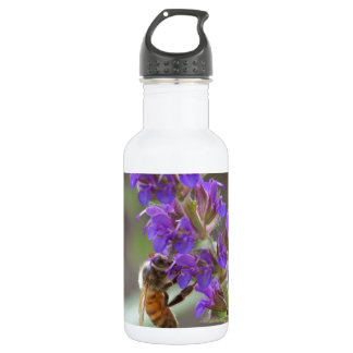 Honeybee on Salvia 532 Ml Water Bottle
