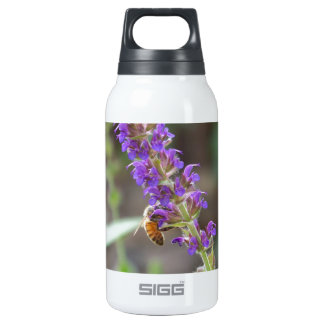 HoneyBee on Salvia 10 Oz Insulated SIGG Thermos Water Bottle