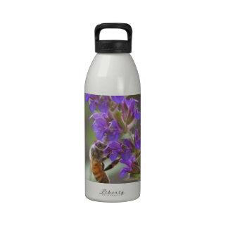 Honeybee on Salvia Drinking Bottles