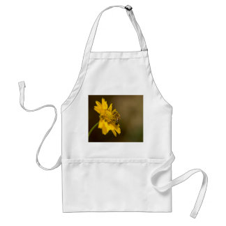 Honeybee on Yellow Flower Standard Apron