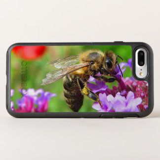 Honeybee Purple Flower OtterBox Symmetry iPhone 8 Plus/7 Plus Case