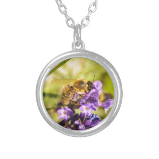 Honeybee Silver Plated Necklace