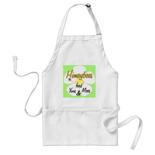 Honeybees feed Yous & Mees - Apron
