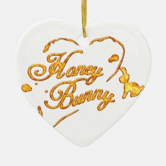 HoneyBunny_Tshirt.png Christmas Ornament