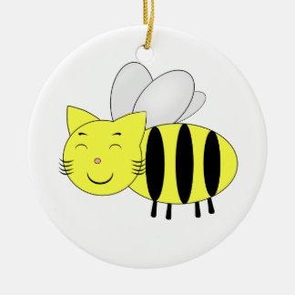 Honeycat Christmas Ornament