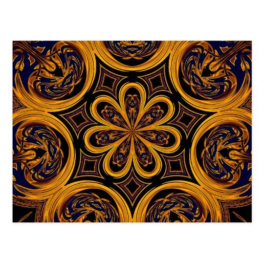 Honeycomb Artistic Postcard