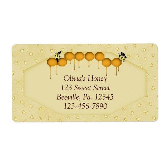 Honeycomb Business Label
