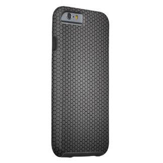 Honeycomb Carbon Fibre texture Tough iPhone 6 Case