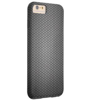Honeycomb Carbon Fibre texture Tough iPhone 6 Plus Case