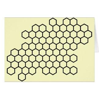 Honeycomb Greeting Card