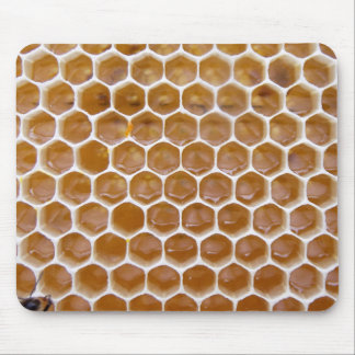 Honeycomb De   Natural Miel Rug   Mouse Mouse Mat