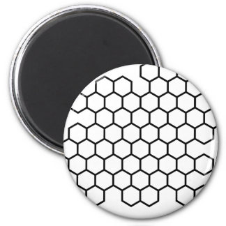 Honeycomb Fridge Magnet