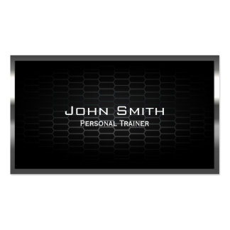 Honeycomb Metal Cells Trainer Business Card