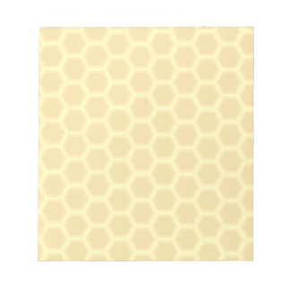 Honeycomb Pattern Notepad