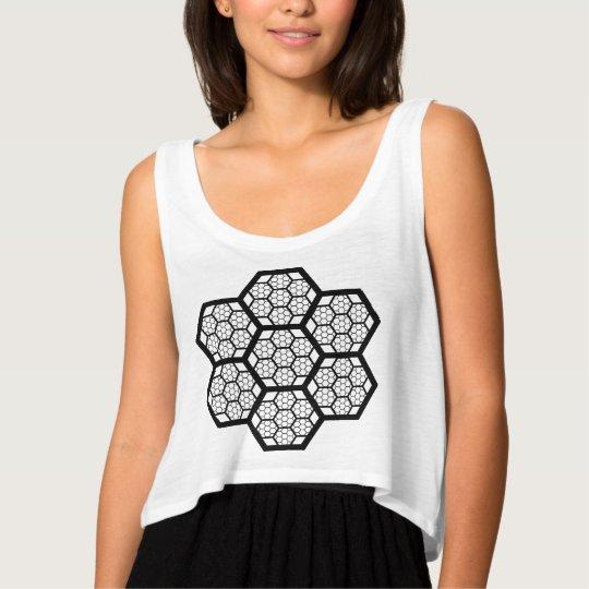 Honeycomb Pattern Tank Top