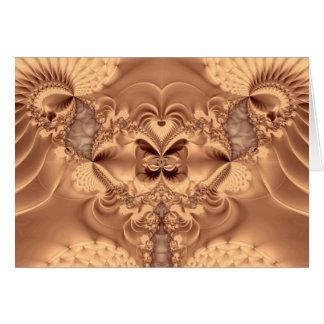 honeycomb throne greeting card