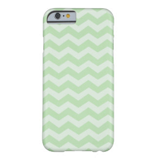 Honeydew and Mint Green Chevron Barely There iPhone 6 Case