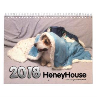 HoneyHouse Corgis Calendar for 2018
