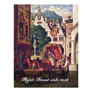 Honeymoon By Schwind Moritz Von (Best Quality) 21.5 Cm X 28 Cm Flyer