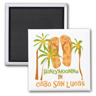 Honeymoon Cabo San Lucas Tshirts and Gifts Square Magnet