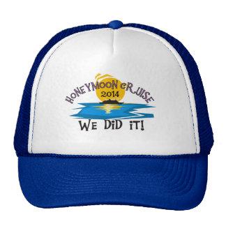 Honeymoon Cruise 2014 Mesh Hats