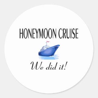 Honeymoon Cruise Stickers