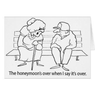 Honeymoon Humor Card