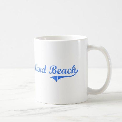 Honeymoon Island Beach Florida Classic Design Basic White Mug