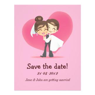 Honeymoon Love 21.5 Cm X 28 Cm Flyer