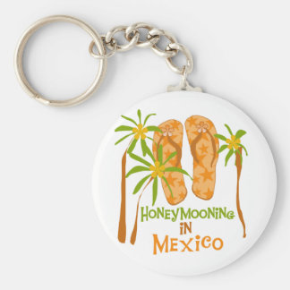 Honeymoon Mexico Tshirts and Gifts Keychains