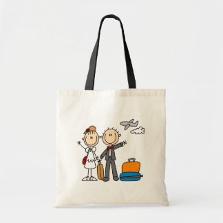 Honeymoon Time For The Bride And Groom Bag
