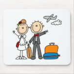 Honeymoon Time For The Bride And Groom Mousepad
