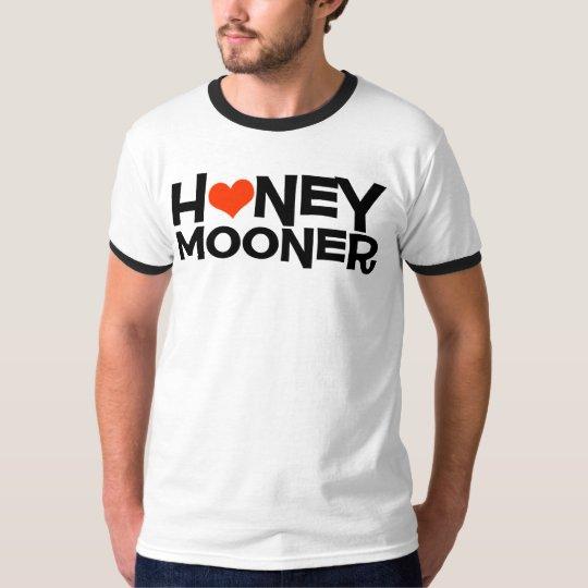 Honeymooner with Heart Newlywed T-Shirt